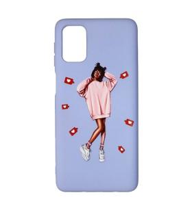 Силиконовый чехол Xiaomi Poco M3 – ART Lady Like