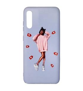 Силиконовый чехол Samsung Galaxy A50 – ART Lady Like