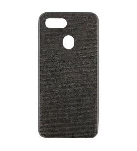 Цветной чехол Oppo A12 – Shine (Черный)