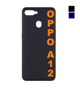 Чехол Oppo A12 Silicone Case Full Nano