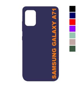 Чехол Samsung Galaxy A71 Silicone Case Full Nano